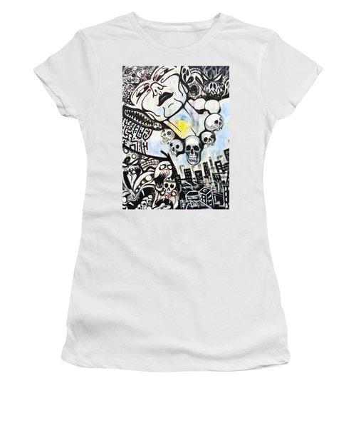 Modern Bride Women's T-Shirt (Junior Cut) by Yelena Tylkina