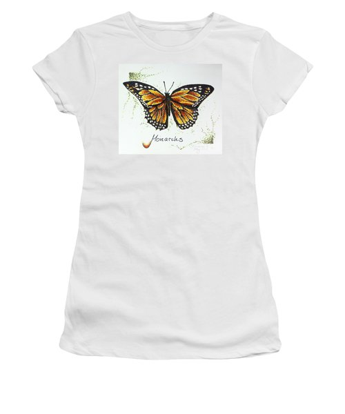 Monarchs - Butterfly Women's T-Shirt (Athletic Fit)