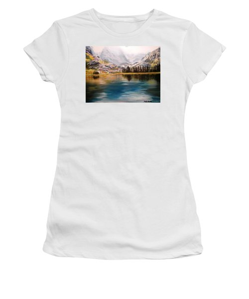 Montana Reflections Women's T-Shirt (Athletic Fit)