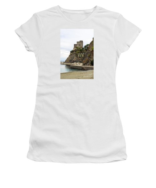 Monterosso Harbor Pier Women's T-Shirt