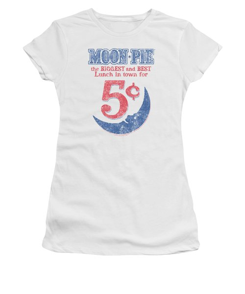 Moon Pie -  - Lunch Munch Women's T-Shirt (Athletic Fit)