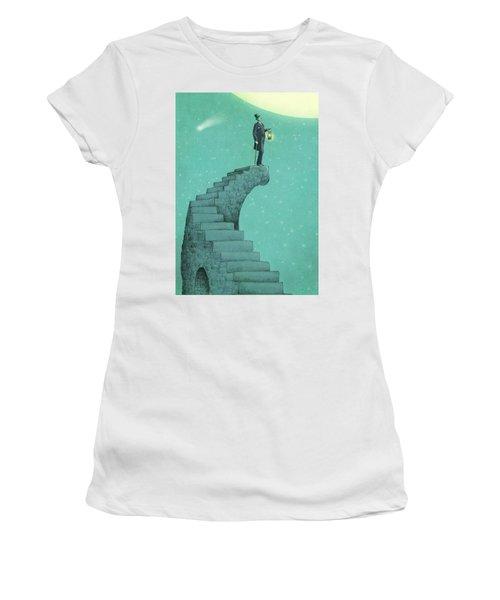 Moon Steps Women's T-Shirt