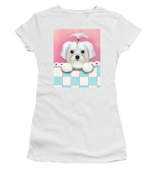 Morkie Shelly Women's T-Shirt