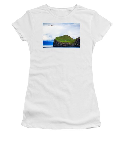 Most Peaceful House In The World Women's T-Shirt (Athletic Fit)