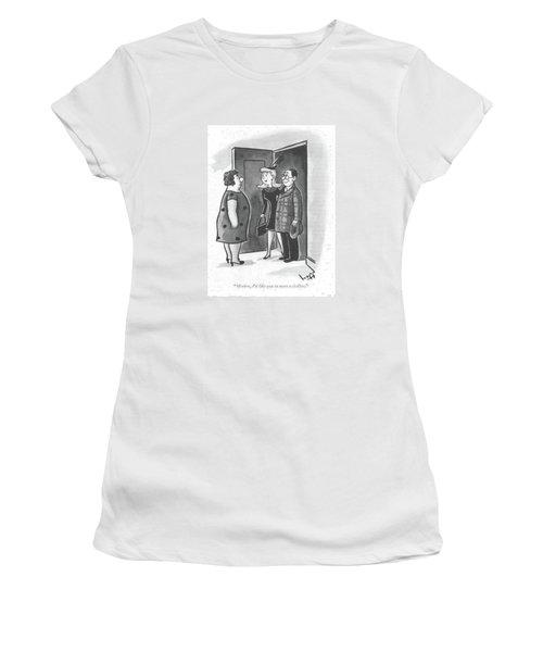 Mother, I'd Like You To Meet A Civilian Women's T-Shirt