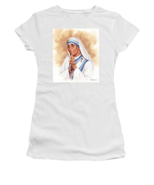 Mother Teresa Women's T-Shirt (Athletic Fit)