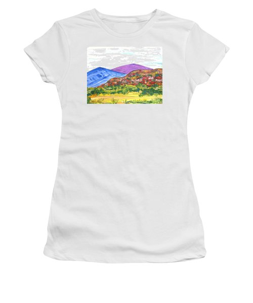 Mountains And South Mesa Women's T-Shirt (Athletic Fit)