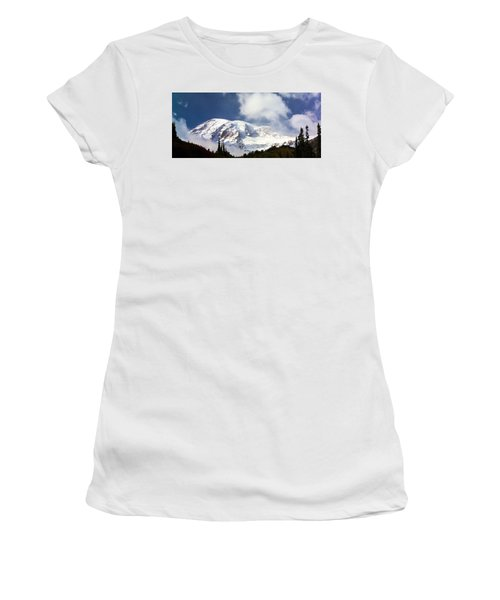 Mt Rainier II Women's T-Shirt (Athletic Fit)