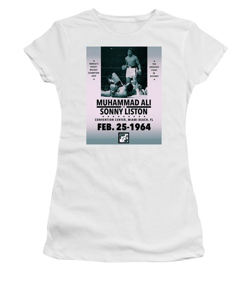 Muhammad Ali Poster Women's T-Shirt