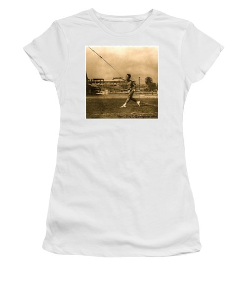 My #hero, George Porter, 1968 Women's T-Shirt (Athletic Fit)