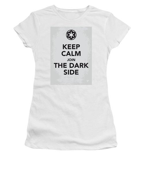 My Keep Calm Star Wars - Galactic Empire-poster Women's T-Shirt