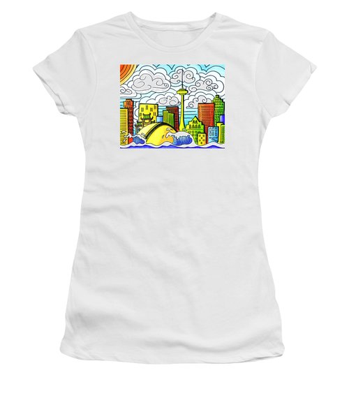 My Toronto Women's T-Shirt (Junior Cut) by Oiyee At Oystudio