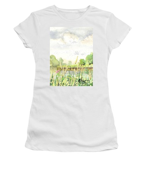 Napanee River West Women's T-Shirt (Athletic Fit)