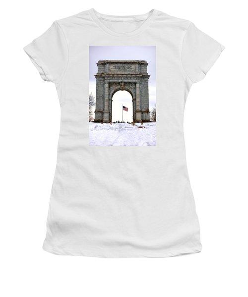 National Memorial Arch Women's T-Shirt