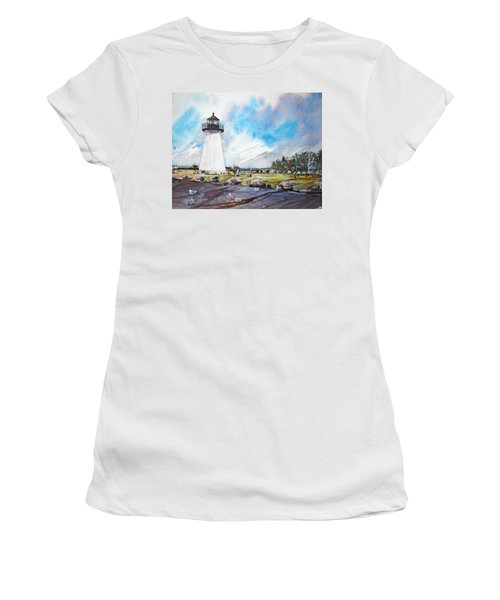 Ned's Point Light Women's T-Shirt