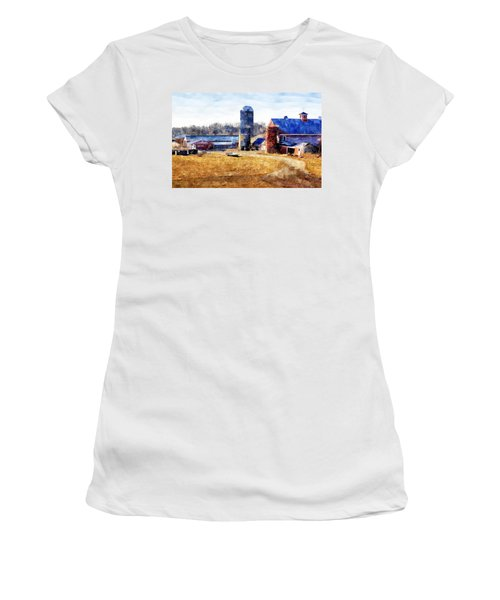 New England Farm 2 Women's T-Shirt