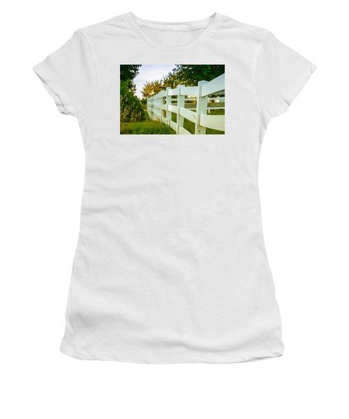 New England Fenceline Women's T-Shirt (Athletic Fit)
