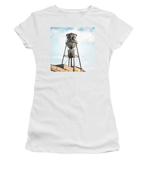 New York Water Towers 9 - Bed Stuy Brooklyn Women's T-Shirt