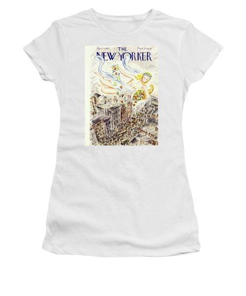New Yorker April 2 1937 Women's T-Shirt