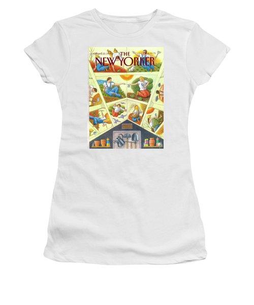 New Yorker April 22nd, 1991 Women's T-Shirt