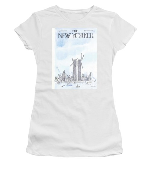 New Yorker April 29th, 1974 Women's T-Shirt