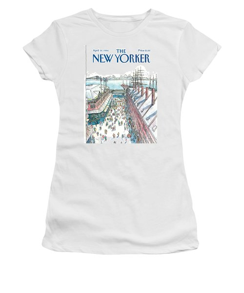 New Yorker April 30th, 1984 Women's T-Shirt