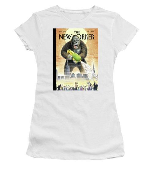 New Yorker August 1st, 2005 Women's T-Shirt