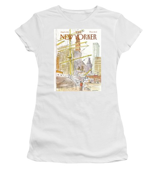 New Yorker August 31st, 1981 Women's T-Shirt