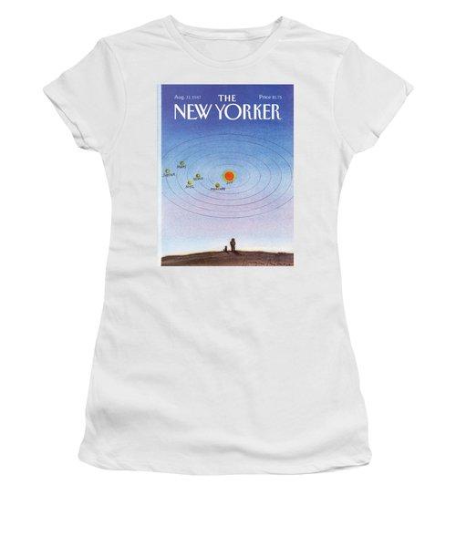 New Yorker August 31st, 1987 Women's T-Shirt