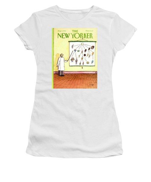 New Yorker August 4th, 1986 Women's T-Shirt