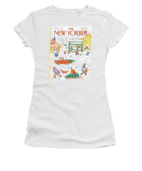 New Yorker December 10th, 1984 Women's T-Shirt