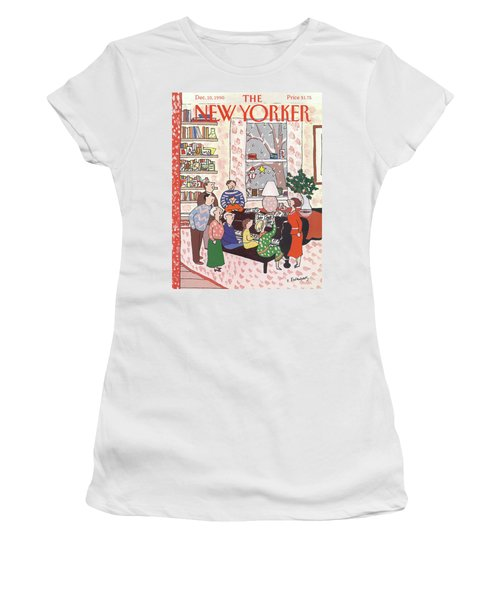 New Yorker December 10th, 1990 Women's T-Shirt