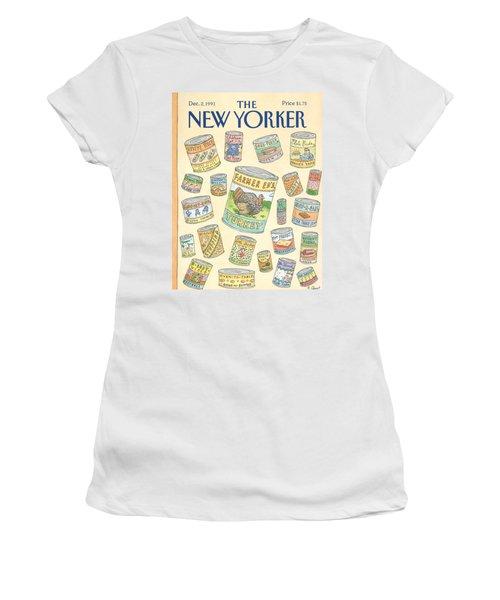 New Yorker December 2nd, 1991 Women's T-Shirt