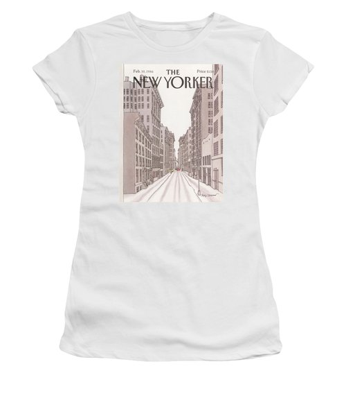 New Yorker February 10th, 1986 Women's T-Shirt