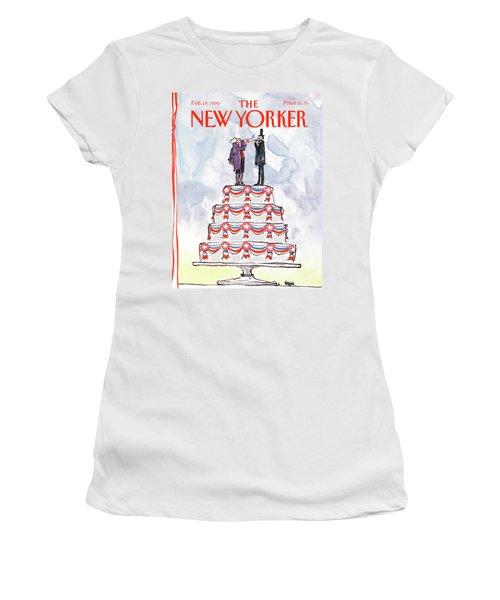 New Yorker February 19th, 1990 Women's T-Shirt