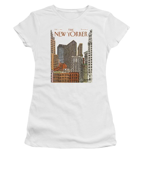 New Yorker February 1st, 1982 Women's T-Shirt