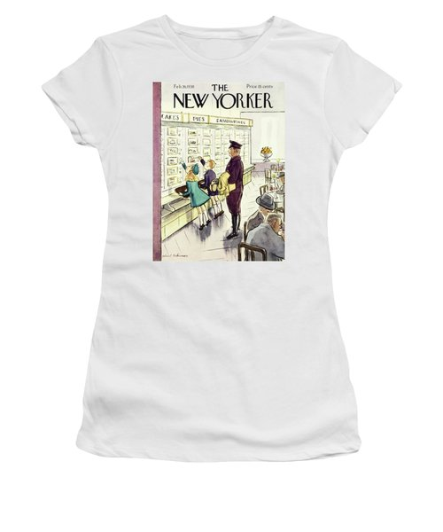New Yorker February 26 1938 Women's T-Shirt
