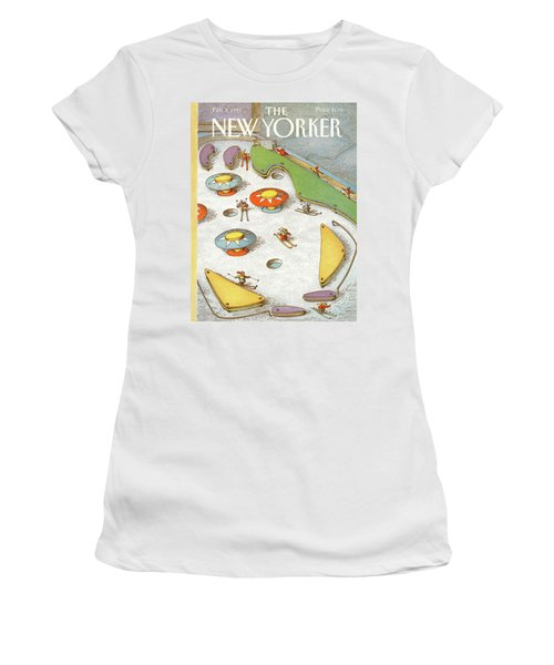 New Yorker February 4th, 1991 Women's T-Shirt