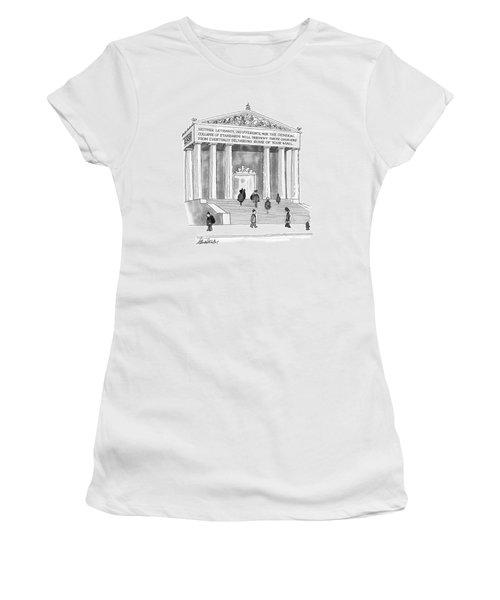 New Yorker January 26th, 1976 Women's T-Shirt