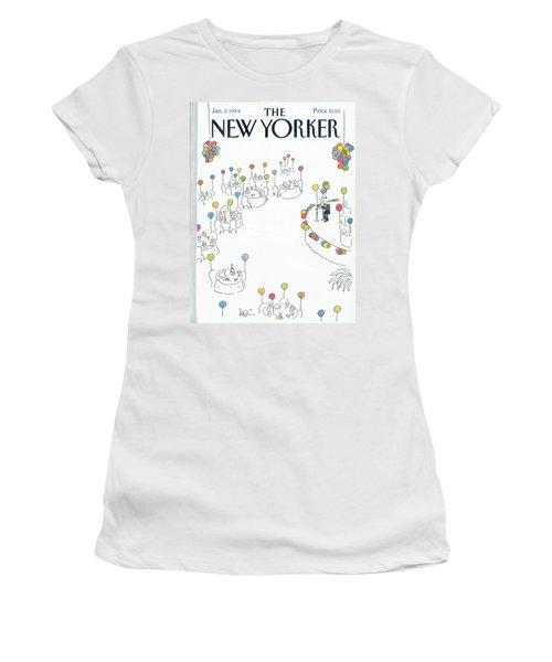 New Yorker January 2nd, 1984 Women's T-Shirt