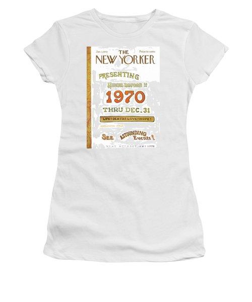 New Yorker January 3rd, 1970 Women's T-Shirt