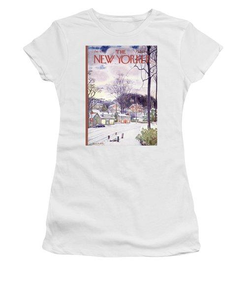 New Yorker January 9th, 1965 Women's T-Shirt