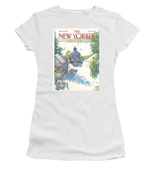 New Yorker July 4th, 1983 Women's T-Shirt