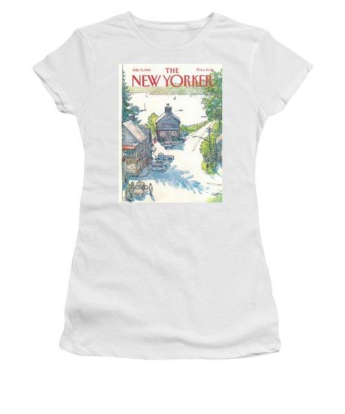 New Yorker July 4th, 1983 Women's T-Shirt