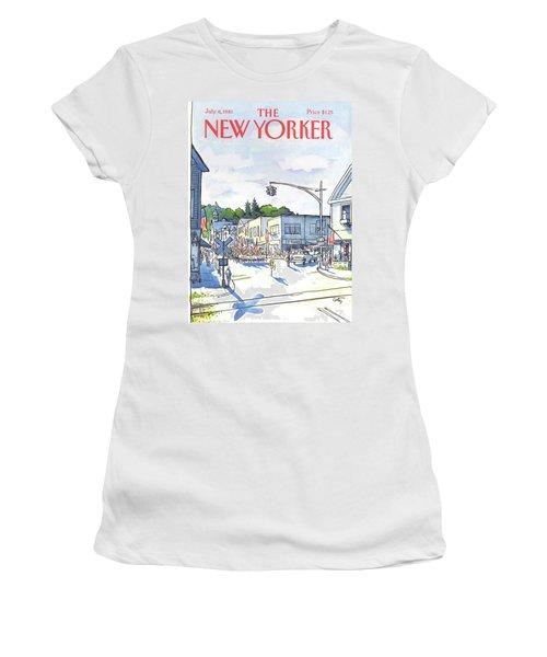 New Yorker July 6th, 1981 Women's T-Shirt