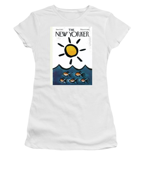 New Yorker June 10th, 1972 Women's T-Shirt