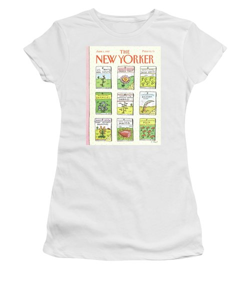 New Yorker June 1st, 1987 Women's T-Shirt