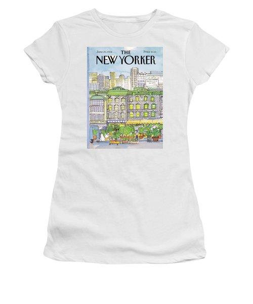 New Yorker June 25th, 1984 Women's T-Shirt