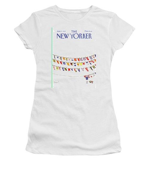 New Yorker June 3rd, 1985 Women's T-Shirt
