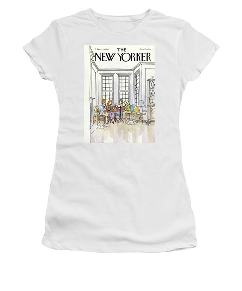 New Yorker March 3rd, 1980 Women's T-Shirt